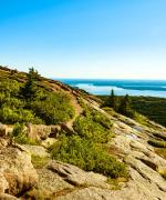 Cadillac Mountain i Acadia National Park