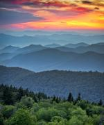 UBESCO bjergene i Great Smoky Mountains