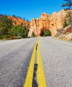 Scenic drive i Bryce Canyon